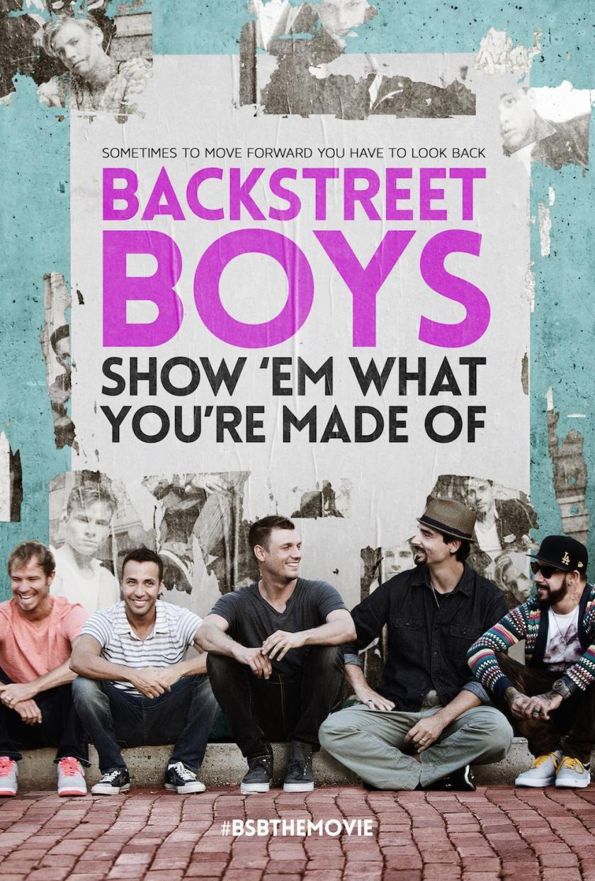 Poster do documentário dos Backstreet Boys