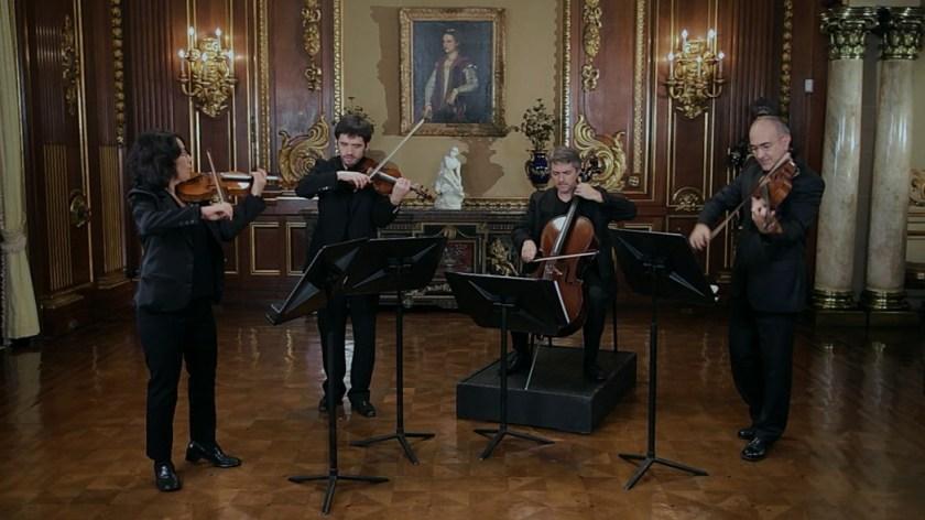 Poster Documentário Villa-Lobos - E os Quartetos de Cordas o Compositor