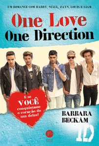 "Capa do Livro ""One Love,One Direction"""