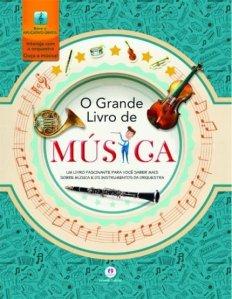 """Capa de """"O Grande Livro da Música"""""""