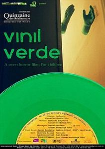 "Cartaz do Curta ""Vinil Verde"""